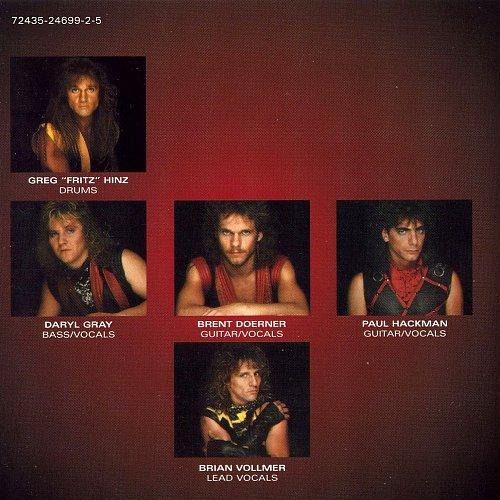 Helix - Walkin' The Razor's Edge (1984 Capitol Records Inc., EMI Music, Canada)