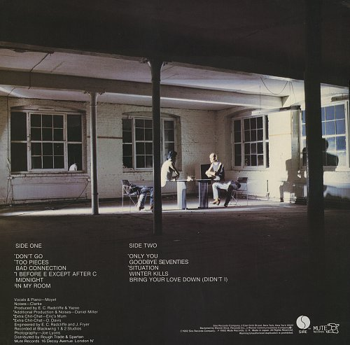 Yazoo - Upstairs At Eric's (1982)