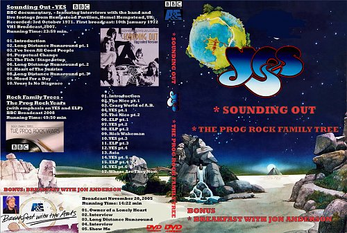 Yes - Sounding Out The Prog Rock Family Tree (2008)
