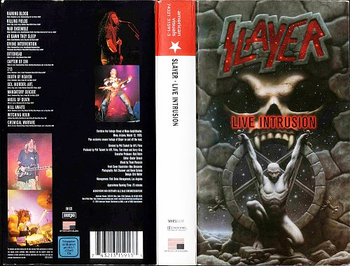 Slayer - Live Intrusion (1995)
