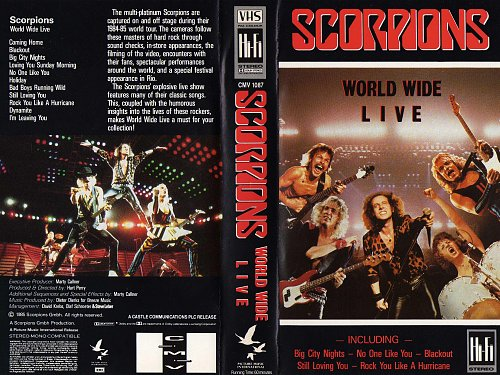 Scorpions - World Wide Live (1985)