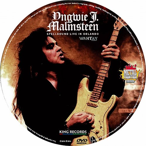 Yngwie Malmsteen - Spellbound Live In Orlando (2014)
