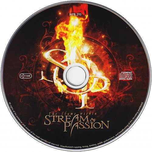 Stream Of Passion - The Flame Within (2009 Napalm Records Handels GmbH, Austro Mechana, Germany)