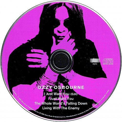 Ozzy Osbourne - I Just Want You (1995 Sony Music Entertainment, Epic, Australia)