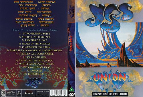 Yes - Union Tour