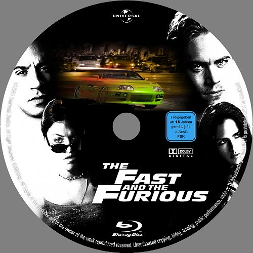 Форсаж / The Fast & The Furious (2001)