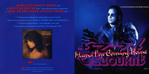 Ozzy Osbourne - Mama I'm Coming Home (1991 Sony Music Ent., Epic, BBC Enterprises Ltd., Austria, EU)