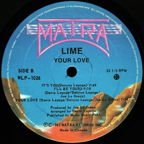 Lime - Your Love (1981)