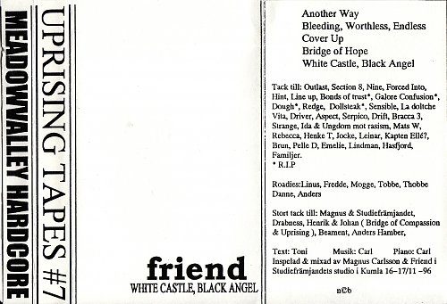 Friend - White Castle, Black Angel (1996)