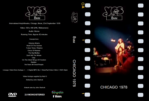 Yes - 8mm, Chicago 1978