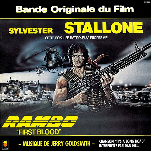 "Jerry Goldsmith - Rambo ""First Blood"" (Bande Originale Du Film) (1983)"