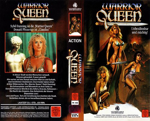 Warrior Queen / Королева варваров 3: Амулет Беренис / Королева-воин (1987 USA)