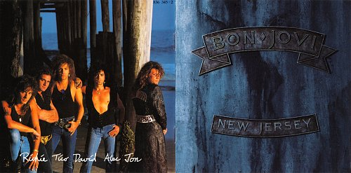 BON JOVI - New Jersey 1988