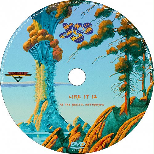 Yes-Like It Is: At The Bristol Hippodrome(2014)