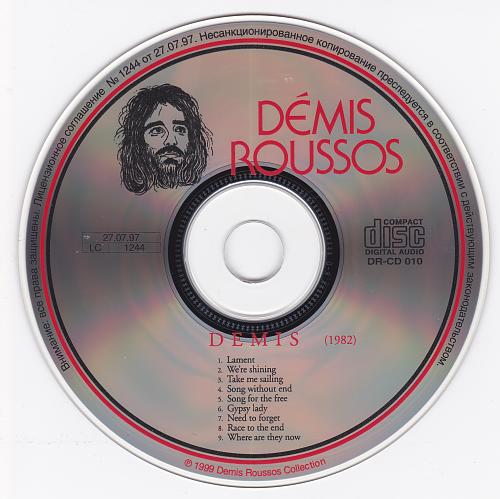 Demis Roussos - Demis (1982)