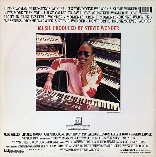 Stevie Wonder - The Woman In Red (1984)