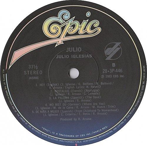 Julio Iglesias - Julio (1983)