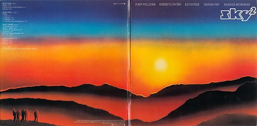 Sky - Sky-2 (1980)  - Paper sleeve reissue, Japan, 2CD