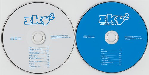 Sky - Sky-2 (1980) - Paper sleeve reissue, Japan, 2CD