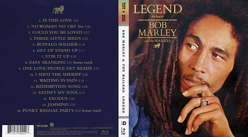 Bob Marley & The Wailers - Legend (1984)