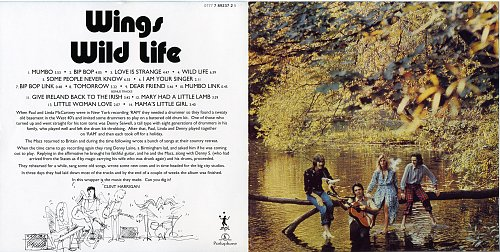 Paul McCartney & Wings - Wings Wild Life (1971)