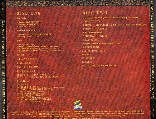 Uriah Heep - Chapter & Verse - The Uriah Heep Story (2006) (6CD)