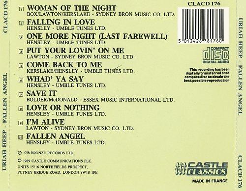 Uriah Heep - Fallen Angel (1978)