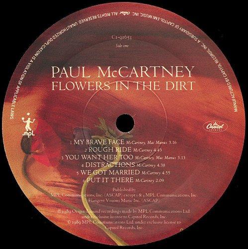 Paul McCartney - Flowers In The Dirt (1989)