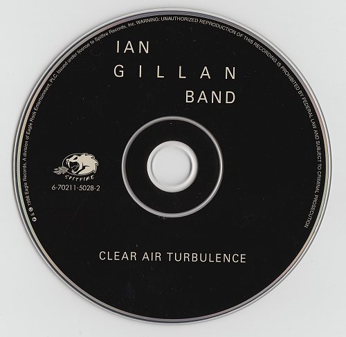 Ian Gillan Band - Clear Air Turbulence (The Rockfield Mixes) (1977)