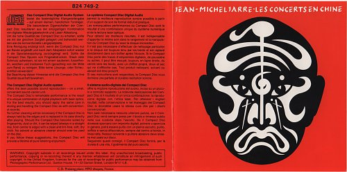 Jean-Michel Jarre - Les Concerts En Chine / The Concerts In China (1982)