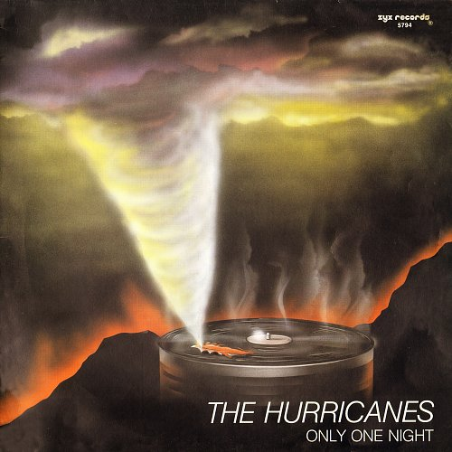 The Hurricanes - Only The Night (1988) Maxi-single
