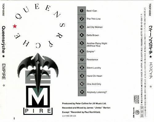 Queensryche - Empire (1990)