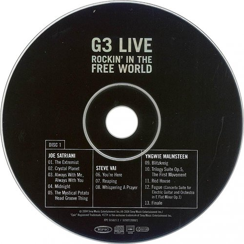 G3 - Rockin´ In The Free World (2004)