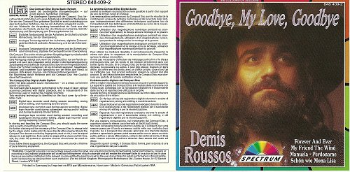 Demis Roussos - Goodbye, My Love, Goodbye (2000)
