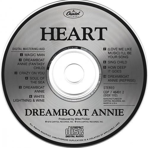 Heart - Dreamboat Annie (1976)