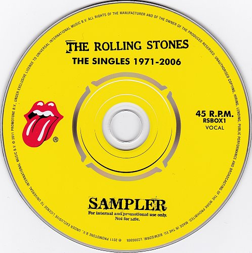 Rolling Stones, The - The Singles 1971-2006 Sampler (2011)