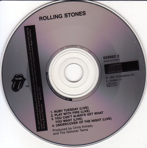 Rolling Stones, The - Ruby Tuesday (1991)