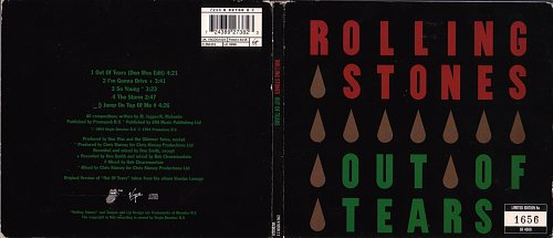 Rolling Stones, The - Out Of Tears (1994)