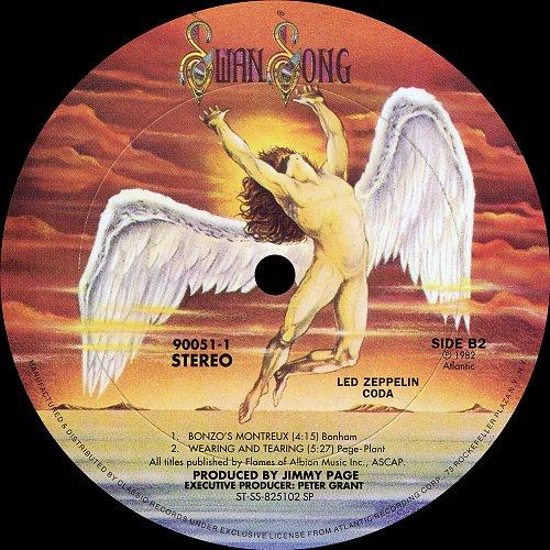 Led Zeppelin - Classic Records LP 10 Coda (1982 Atlantic, Swan Song, USA 2014)