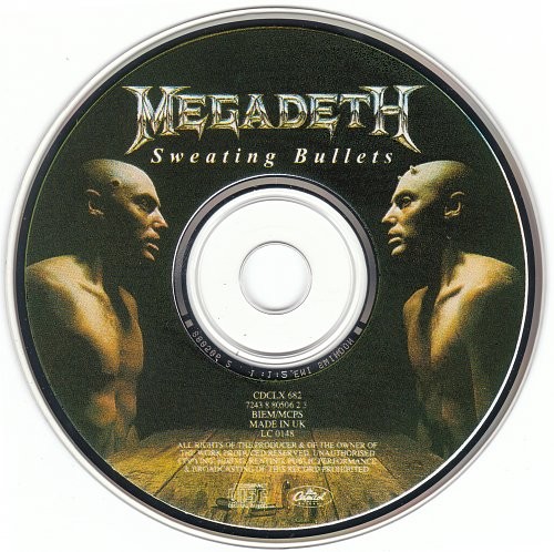 Megadeth - Sweating Bullets (1992)