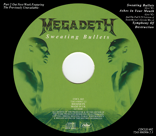 Megadeth - Limited Edition! Megadeth Live (1992)