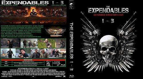 Неудержимые 1-3 / The Expendables 1-3 (2010 - 2014)