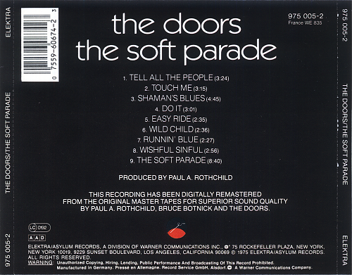 Doors - The Soft Parade (1969)