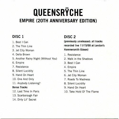 Queensrÿche - Empire (1990)