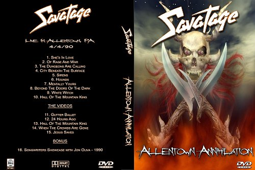 Savatage - Allentown Annihilation (1990)