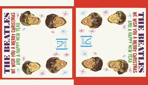The Beatles (Vee Jay)  Holiday Sleeve  1964