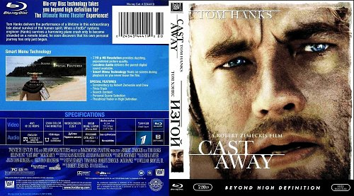 Изгой / Cast Away [2000, Blu-ray]