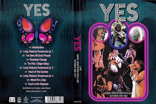 Yes - Live Hemel Hempstaid Pavillion (1971)