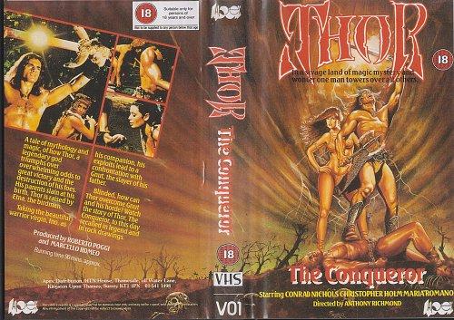 Thor the Conqueror / Тор-завоеватель / Thor il conquistatore (1983)