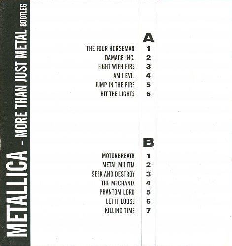 Metallica - More than just metal